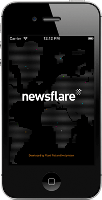 Download the Newsflare iPhone App
